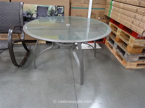 Costco Patio Tables Kirkland Signature 50 Inch Patio Table