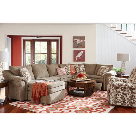 lazy boy devon sectional sofa devon sectional