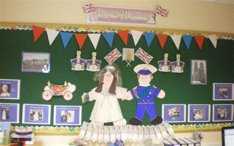 The Royal Wedding classroom display photo   Photo gallery