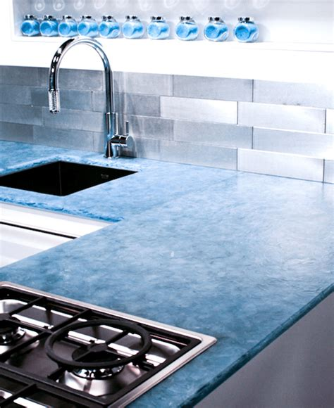 Bio Glass Countertops by Bioglass Is A 100 Recycled Building Material Make