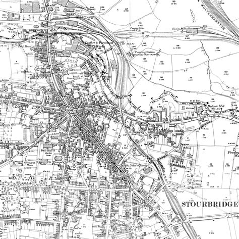 printable area old os old maps of stourbridge and the surrounding area lobster