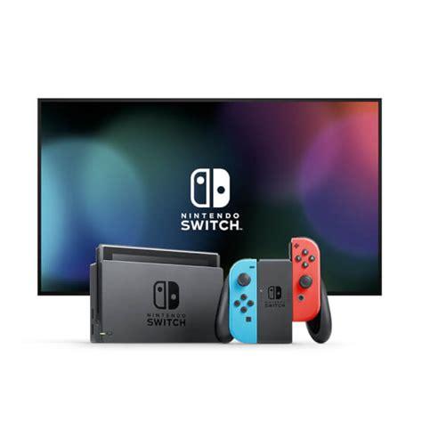 Original Nintendo Switch Con Controller Blue nintendo switch with neon blue neon con controllers nintendo official uk store