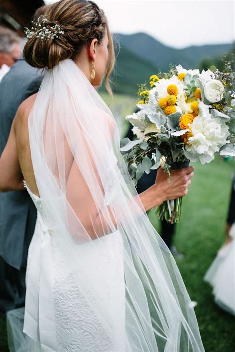 Wedding Updo With Veil And Blusher by The Prettiest Bridal Veil And Hairstyle Pairings