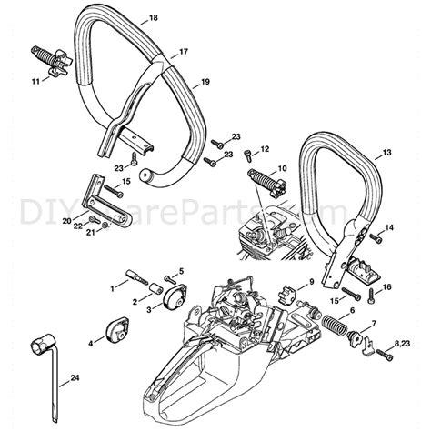 stihl ms 361 parts diagram stihl ms 361 chainsaw ms361 vw parts diagram av system
