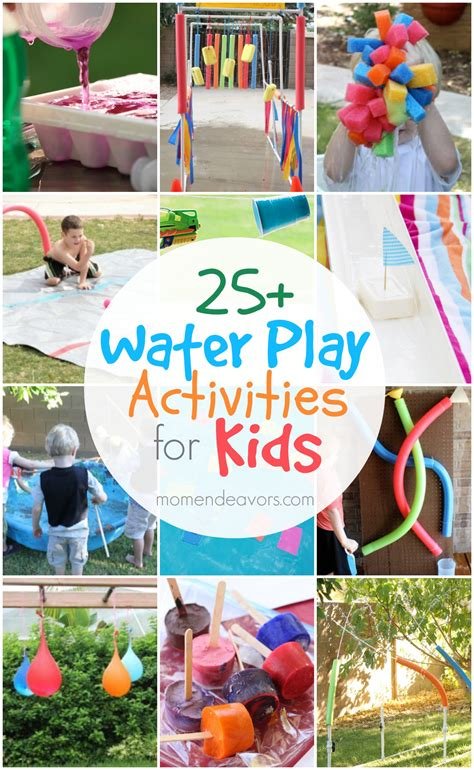 backyard activities for kids 25 outdoor water play activities for kids