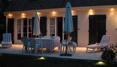 eclairage de terrasse exterieur nivrem spot exterieur terrasse bois diverses id 233 es
