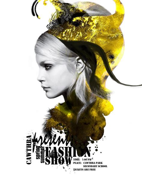 fashion poster by giraff e on deviantart