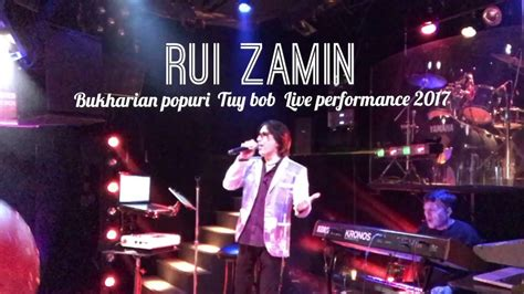 bob live performance rui zamin bukharian popuri tuy bob live performance