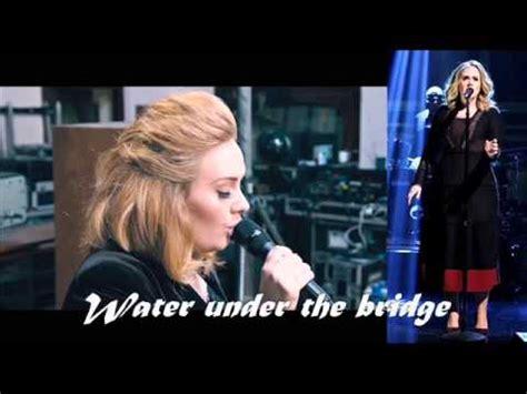 download mp3 adele water under bridge adele water under the bridge quot 25 quot youtube