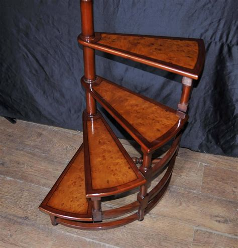 step ladder bookcase style library steps in mahogany ladder step