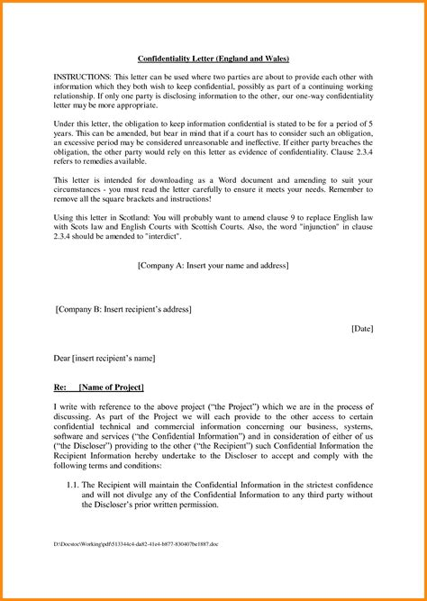 letter of agreement template between two 7 contract sle between two model resumed