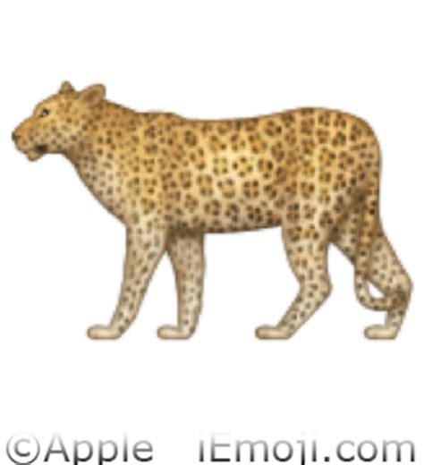 leopard emoji u 1f406