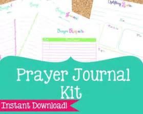prayer journal kit prayer printables 6 pdf printable