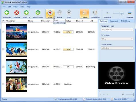 format dvd movie maker top 10 best free dvd maker tools for windows