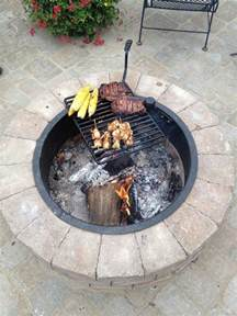 make your own pit ring pit with cooking grill diy projects for everyone