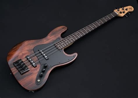 Handcrafted Bass Guitars - element 4 custom collection electric bass guitar by