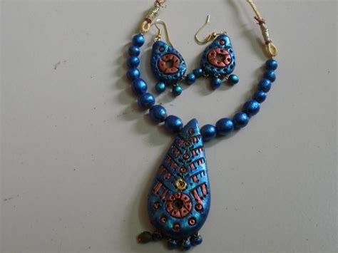 how to make terracotta jewelry terracotta jewellery and fancy jewellery