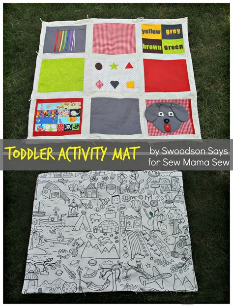 quilt pattern activities toddler activity quilt tutorial at sew mama sew baby