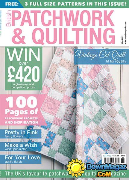Patchwork And Quilting Magazines - patchwork and quilting may 2015 187 pdf magazines