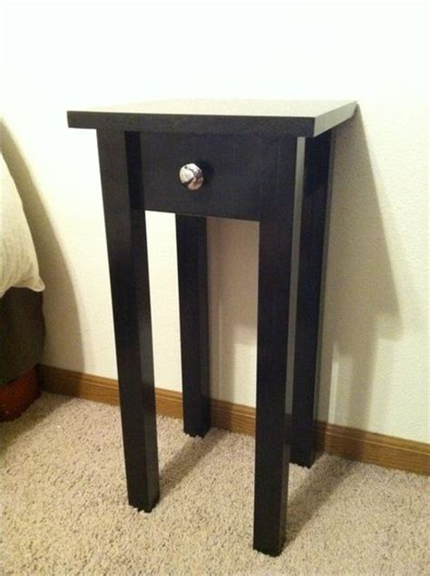 small night tables small nightstand by dakremer lumberjocks com