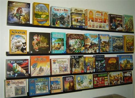 images  board game shelf envy  pinterest