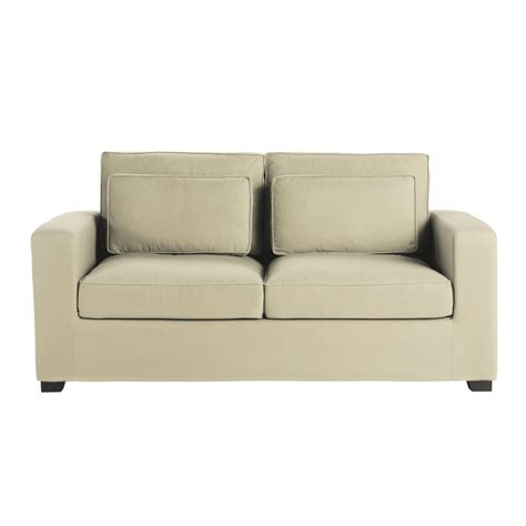 Organic Sofas by Green Design Organic Cotton 2 3 Seater Sofa In Mastic