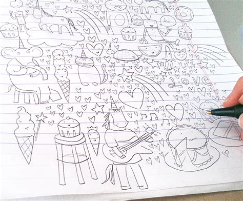 how to make doodle for beginners 10 easy pictures to draw for beginners