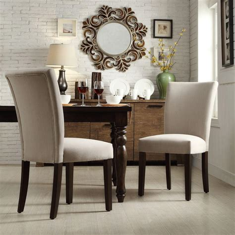 Grey Parsons Chair - walker edison furniture company eames style grey dining