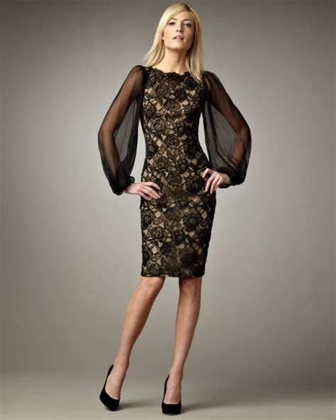Sleeve Lace Cocktail Dress black lace cocktail dress picture collection dressed up