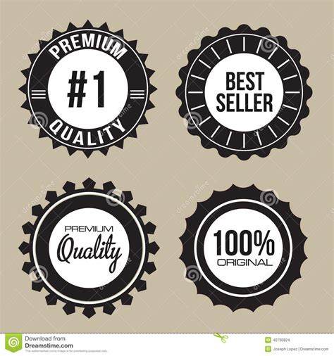 Best Quality Syari Vintage label seal collection of premium quality stock vector image 40730824