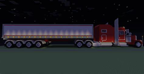 minecraft semi truck minecraft peterbuilt semi truck by thats a keeper217 on