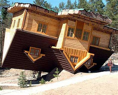 upside down house 10 extreme homes to consider moving into blitz