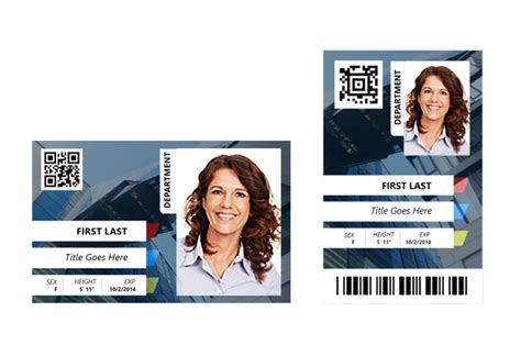 custom card template 187 identification card template free