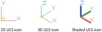 autocad layout viewport ucs control the display of the user coordinate system icon