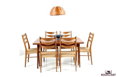 Dining Room Chairs Set Of 6 Set Of 6 Dining Chairs In Teak Room Of