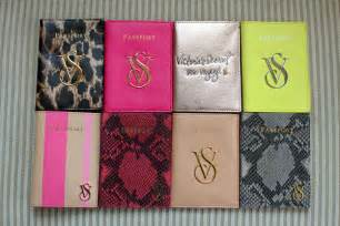 Passport Duvet Cover Victoria S Secret Real Leather Travel Passport Case Holder