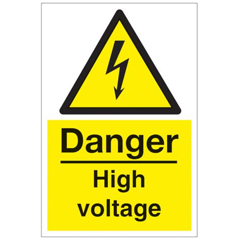 12 Warning Signs Your Is In Danger by Danger High Voltage Safety Sign Hazard Warning Signs