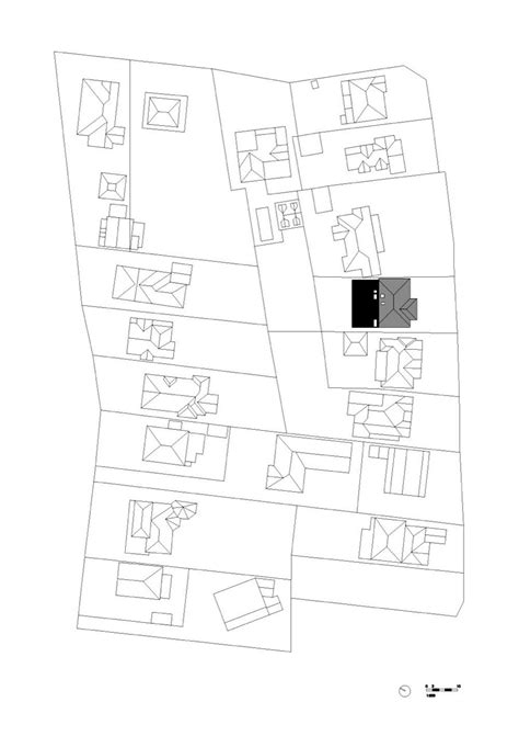 house site plan gallery of skylight house andrew burges architects 17