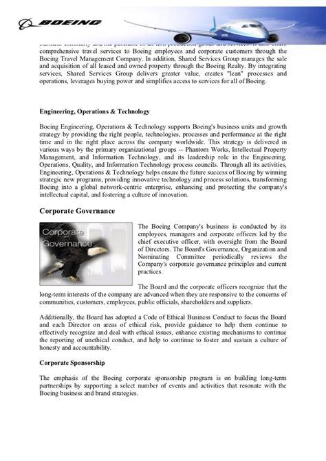 boeing enterprise help desk a report on boeing