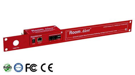 room alert avtech room alert 4er monitors real time temperature humidity power flood smoke room