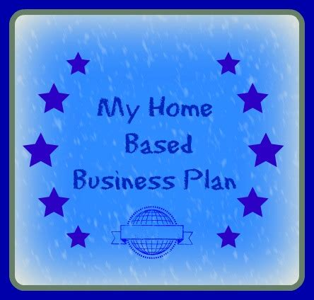 home business plan business plan templates 7 key elements 1 4