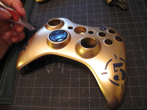 acrylic paint xbox controller creating a customized xbox controller portfolio