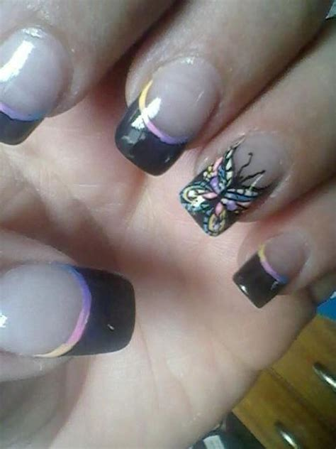 painting nails montana top 25 ideas about butterfly nails on nail