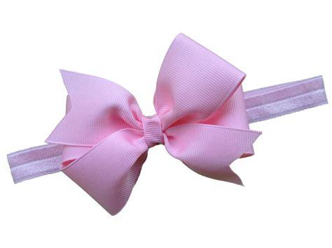Headband Bow light pink bow headband pink baby headband pink newborn