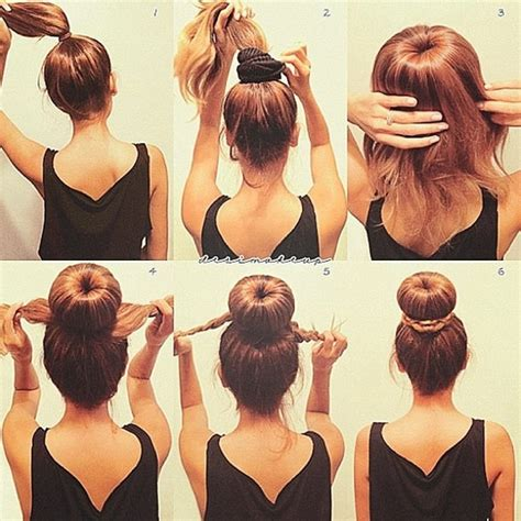 How To Make Hairstyles by My New Favorite Hair Style How To Make A Big Hair Bun