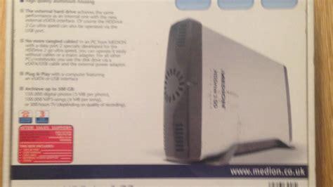 Medion 500GB external Hard Drive   Electronics