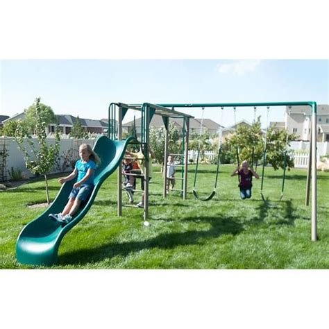 lifetime 10 swing set 10 best images about monkey bar swing set on pinterest