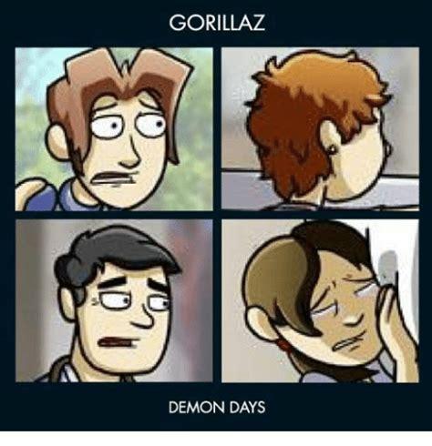 Demon Memes - gorillaz demon days gorillaz meme on sizzle