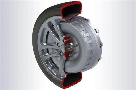 pioneering  wheel electric motor tech set  transform