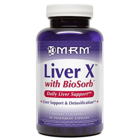 Creatine And Liver Detox by Mrm Liver X 650mg 60 Vege Caps